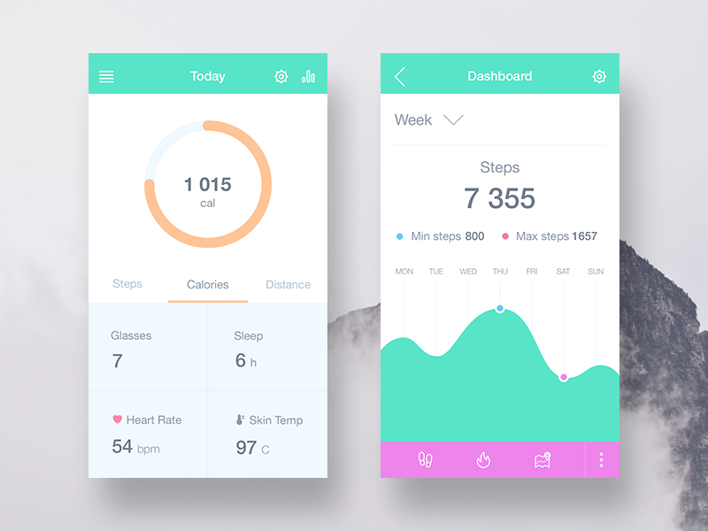 A Mobile Fitness App that Tracks Your Goals