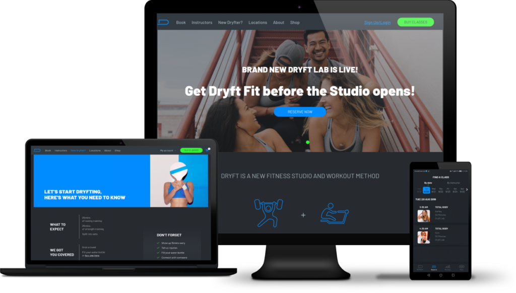 Dryft a Mobile Fitness App