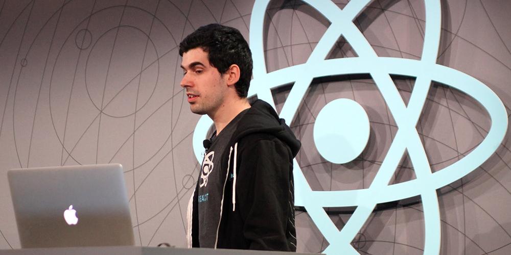 Jordan Walke is introducing React.js