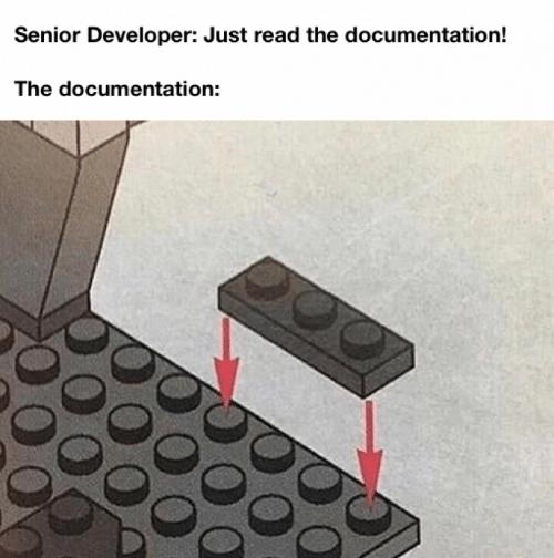 Lego instruction meme