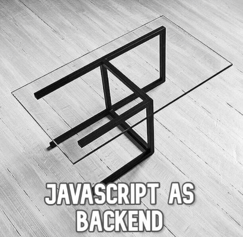 A joke about JavaScript