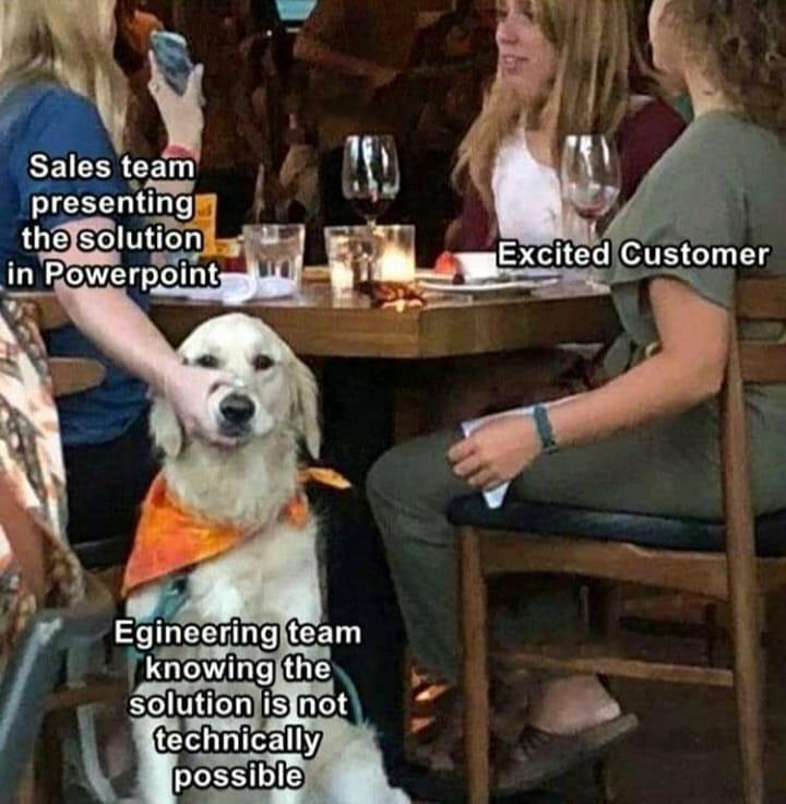 Meme about app development
