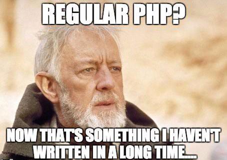 joke about regular php code