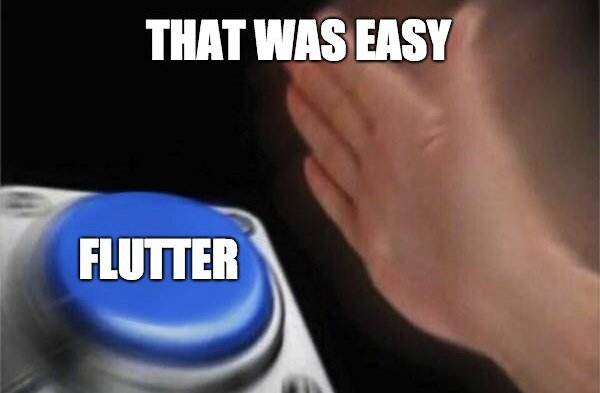 flutter is easy