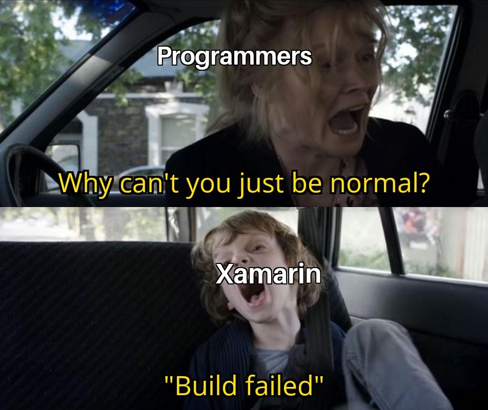 joke about xamarin
