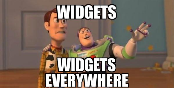 joke about widgets