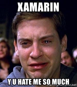 mem about xamarin